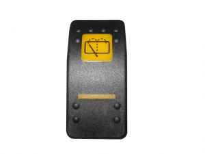 Cover wash, wipe switch decal JCB 3CX 4CX